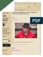Strahlenfolter Stalking - TI - Psychiatrisierung - 41 Bekannten Fälle - Die Gutachtenjäger - Behoerdenstressnews.blogspot