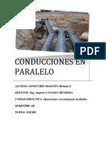 Informe Conducciones en Paralelo