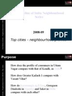 City Skyline of India Neighbourhood series