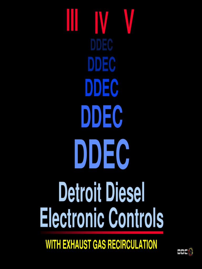 ddec iii iv v cl | Turbocharger | Fuel Economy In Automobiles Ddec Iii Check Engine Diagram Stop And Ilghtwiring on
