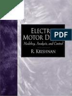 86004759 Electric Motor Drives Modeling Analysis and Control 2001 R Krishnan