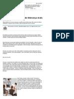 Conheça Os 10 Perfis de Liderança Mais Comuns - Notícias - Carreira - Administradores