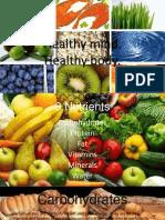 health-healthy body  healthy mind