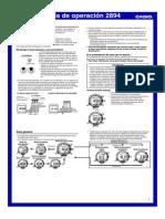 Manual PRG-80 Casio