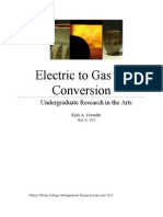Electric to Gas Kiln Conversion