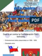 Guerra Confederacion Peru Bolivia
