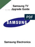 2011 TV Firmware Upgrade Instruction