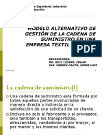 Modelo Alternativo Gestion de Cadena