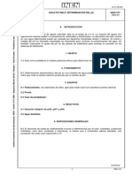 NTE 973 Determinación de PH