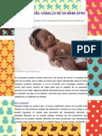 Cuidados Del Cabello de Un Bebe Afro