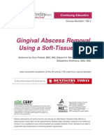 Gingival Abscess Removal
