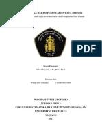 Matematika Dalam Pengolahan Data Seismik-windy Dwi a-115090700111009