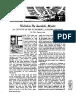 Nicholas de Roerich, Mystic (AMORC)