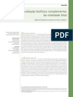 Avaliação Biofisica Complementar Da Vitalidade Fetal (Completo)