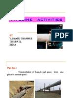 Pipeline Laying proceedure