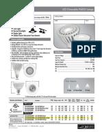 PAR30 12W Spec Sheet