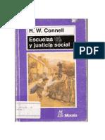 Escuelas Y Justicia Social R W Connel Madrid Morata 1997