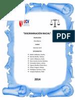 Civil Discriminación Racial-Informe de Derecho