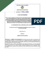 decreto pensiones policias