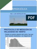 Clase 21. Energía Eólica