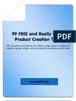 99 Free and Really Useful Product Creation Tools