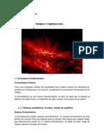 Termodinámica - Tema 1 - Equilibrio Térmico y Temperatura