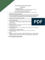 Fimmda-nse Debt Market (Basic) Module Curriculum