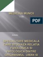 Curs 1 - Medicina Muncii