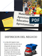 Materiales de Aprestamiento Educativo -- FIANL