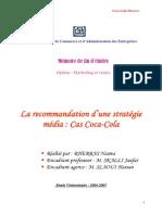 Recommandation d'Une Stratégie Media Cas COCA COLA MAROC