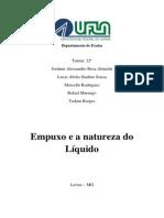 Relatório2-Empuxo e a Natureza Do Líquido