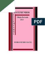 LITERATURA - TESTEMUNHOS, REVISADA