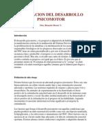 Evaluaclon Del Desarrollo Psicomotor