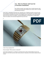 Diamonds Are Forever - How to Choose and Care for Diamonds and Other Precious Gemstones