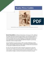 Benito Pérez Galdós