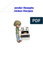 Hoender Resepte Chicken Recipes