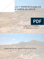1.- 2014 Importancia Del Sector Minero en Chile
