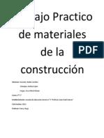 Trabajo Practico de Materiales de La Construcción