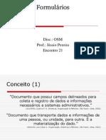 ENCONTRO 21 - Formularios