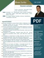 Currículo Jorge Rivas