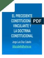 2092 01 El Precedente Constitucional Vinculante