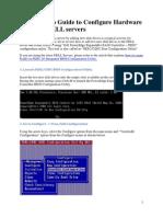 DELL Tutorial Configure Hardware RAID