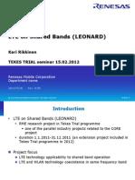 Leonard Tekes Workshop 15feb 2012