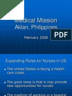 Medical Mission Frank Talk