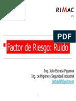 Factor de Riesgo Ruido - Julio Estrada - CMB