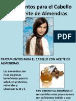 Tratamientos Para El Cabello Con Aceite de Almendras