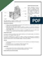 Sistema Estructural - Acero
