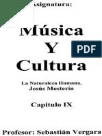 Cultura y Natura - J. Mosterín