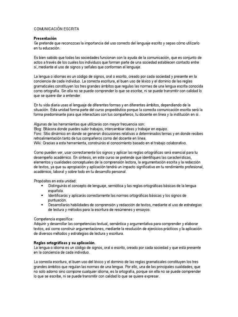 Magnífico Reanudar Las Habilidades De Comunicación Escrita Y Oral ...