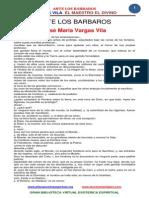 Ante Los Barbaros Vargas Vila
